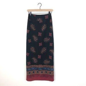 Harold's Maxi Wrap Skirt Size 4